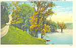 Otsego Lake Cooperstown NY  Postcard p17350