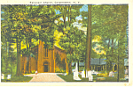 Episcopal Church Cooperstown NY  Postcard p17351