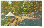 Click here to enlarge image and see more about item p17356: Girl Scout Camp  NY  Postcard p17356 1947
