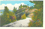 Click here to enlarge image and see more about item p17361: Bald Mountain, Adirondacks, NY  Postcard