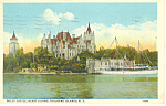Click here to enlarge image and see more about item p17365: Boldt Castle, Thousand Islands, NY  Postcard 1938