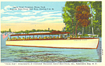 Click here to enlarge image and see more about item p17369: Uncle Sam Excursion Boats NY  Postcard
