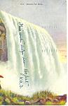 Horseshoe Falls Niagara Falls, NY  Postcard 1909