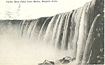 Horseshoe Falls Niagara Falls, NY  Postcard 1915