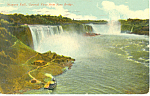 General View Niagara Falls NY  Postcard p17389 1912