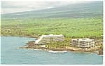 Click here to enlarge image and see more about item p17396: Kailua Kono HI Kona Hilton Postcard p17396