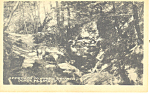 Approach to Stone Church Dover Plains NY  Postcard p17403