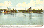 In Thousand Islands, NY  Postcard 1907