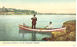 Picturesque America Thousand Islands, NY  Postcard