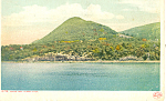Sugarloaf Mountain Hudson River NY  Postcard p17411 1912
