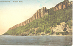 The Palisades Hudson River NY  Postcard p17413