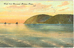 View From Narrows Hudson River NY  Postcard p17414 1907
