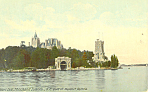 Heart Isle, Thousand Islands, NY  Postcard