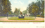 Cooper Park Cooperstown NY  Postcard p17427