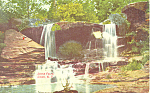 Locks Falls, Cairo, NY  Postcard