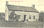 Old Stone House Bradly NY Postcard p17433