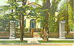 Wm H Sewards Residence Auburn NY Postcard p17446 1915