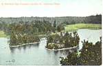 Halstead BayThousand Islands NY  Postcard p17467