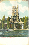 Alster Tower Thousand Islands NY  Postcard p17469