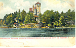Home of George Pullman Thousand Islands NY  Postcard p17472