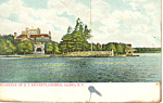 Home of G T Rafferty Imperial Island NY Postcard p17475