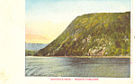 Anthony s Nose Hudson River NY  Postcard p17481