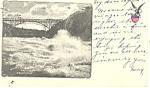 Whirl Pool Rapids Niagara Falls NY   Postcard