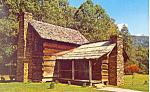 Pioneer Farmstead, Cherokee,NC   Postcard