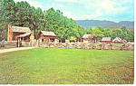 Pioneer Farmstead Smoky Mountains National Park  NC Postcard p17535