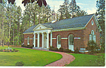 Click here to enlarge image and see more about item p17541: Given Library Pinehurst  NC Postcard p17541