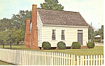 Constitution House Halifax NC Postcard p17550
