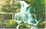 Laurel Falls Smoky Mountains National Park NC Postcard p17569