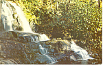 Laurel Falls Smoky Mountains National Park NC Postcard p17570