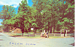 Salem Square Old Salem Winston Salem NC Postcard p17600
