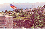 Grandfather Mountain NC Postcard p17603