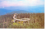 Click here to enlarge image and see more about item p17606: Clingmans Dome Tower National Park NC Postcard p17606