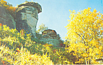 Fall Colors Chimney Rock NC Postcard p17610
