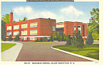Click here to enlarge image and see more about item p17631: Grammar School Black Mountain NC Postcard p17631