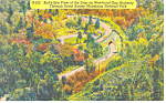 Newfound Gap Highway Smoky Mountains National Park NC Postcard p17637