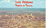Click here to enlarge image and see more about item p17664: Teepees to Towers Tulsa OK Postcard p17664 1968