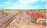 Strasburg Rail Road Postcard 1977