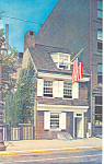 Click here to enlarge image and see more about item p17739: Betsy Ross House Philadelphia PA Postcard p17739