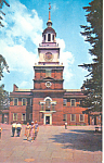 Independence Hall Philadelphia PA Postcard p17740
