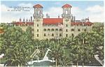 St Augustine FL Lightner Museum  Postcard