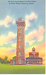 Wm Penn Fire Tower, Reading,PA  Postcard