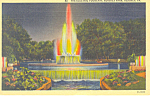 Electric Fountain Hershey Park Hershey PA Postcard p17779 1940