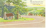 Chester Valley,�Valley Forge,PA Postcard