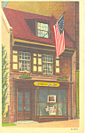 Click here to enlarge image and see more about item p17806: Betsy Ross House Philadelphia PA Postcard p17806
