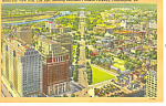 Click here to enlarge image and see more about item p17812: Ben Franklin Parkway Philadelphia PA Postcard p17812