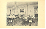 Click here to enlarge image and see more about item p17819: Parlor From Front Royal Frankford Postcard